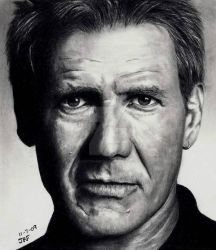 Harrison Ford by Doctor-Pencil