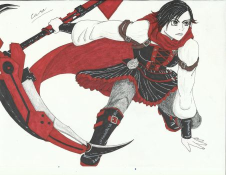 Ruby Rose by shadowedshards