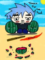 Thanx for the Food by AznFlesh