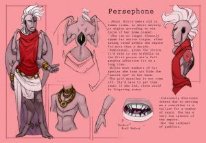 Persephone Reference Sheet by Skarita