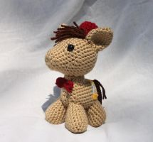 Eleventh Doctor Whooves Amigurumi by MilesofCrochet