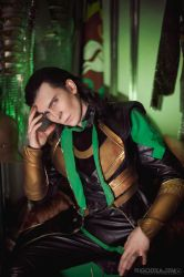 Loki :I am disappointed in the avengers by TheIdeaFix