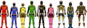 Power Rangers Ancient Age by Eddmspy