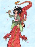 DHP: Mulan by nickyflamingo