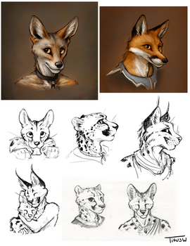 Sketches 2/15/18 by TitusWeiss