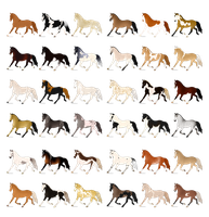 36 Horse Adopts - OPEN! by ssomme