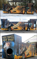 Smaug Bus by sugarpoultry