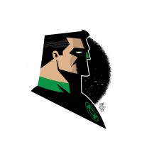 Green Lantern Vector by funky23