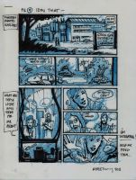 IDW TMNT One Page Nine by Kevineastman