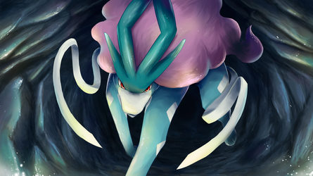 Suicune by nintendo-jr