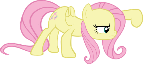 Fluttershy - Not sure if want. by Ocarina0fTimelord