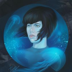 Ghost in the shell by TanyaGreece