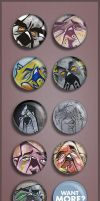 BUTTONS by szc