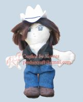 Scott McNeil plushie for Urd-c by notoes
