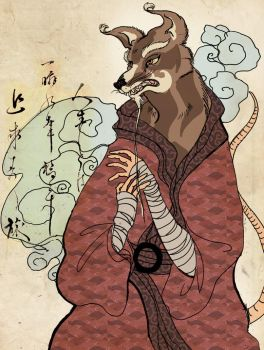 Splinter Ukiyo-e by neohin