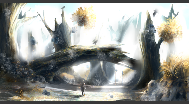 Dead-Zone Speed painting by RatonBallZ