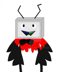 T.V Median (in my style) by LilacWolf5