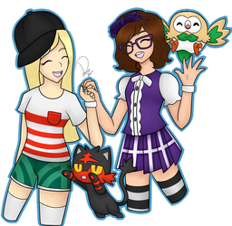Pokemon Me and Misa by Domenica-chan999