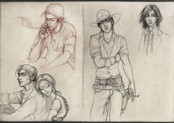 Dark Tower Sketchdump by Awnen