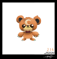 Teddiursa!  Pokemon One a Day, Series 2!