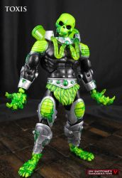 Masters of the Universe Classics custom TOXIS by Jin-Saotome