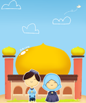 Happy Ied Fitri by BrianRA