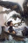 Xena and the Furies by TereseNielsen