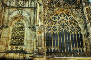 Saint Vitus Cathedral detail by blackasmodeus