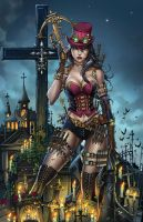 Zenescope GFT Unleashed #1, J. Tyndall by ulamosart