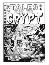 Tales from the Crypt #40 Cover Recreation by dalgoda7