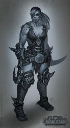 Shattered hand assassin by FirstKeeper