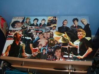 Green Day Collage by suddes