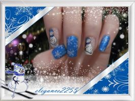 Christmas Nail Art by elegance2255