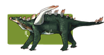Gigantspinosaurs by Quadrupedal