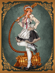 maid Darby by Harpyqueen