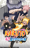 Naruto Shippuden - Team 7 Last Battle by DennisStelly