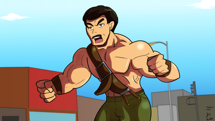Mike Haggar by fighterxaos