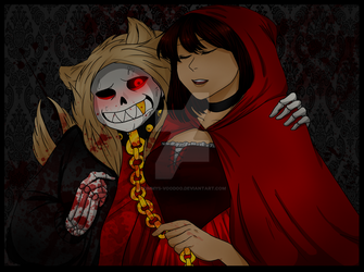 .: Mrs.wolf And Me :. by Kimmys-Voodoo