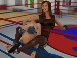 Kelly Montana vs. Paula Baker 6A by PhoenixCreed