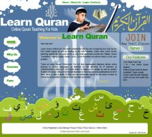 Online Quran Learning Template by pakiboy