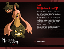 Nintober 102. Pumpkaboo and Gourgeist