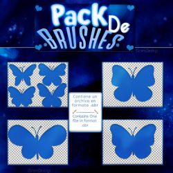 ~~.Pack de Brushes #11 by ISirensDesigns