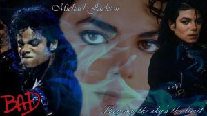 Michael Jackson Bad Wallpaper by Wings-of-Sapphire