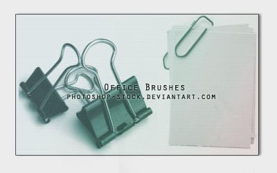 Office Brushes by photoshop-stock