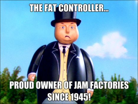 Fat Controller... by Galaxy-Afro