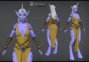 Soraka wip Rendertest by Bogdanbl4