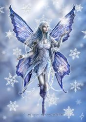 Snowflake fairy by Ironshod