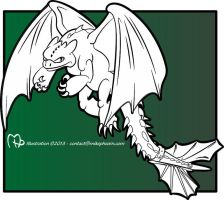 Toothless Inks by MikePHearn