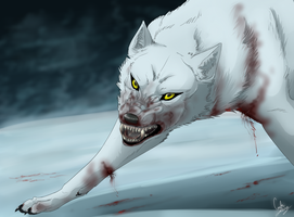 -I Will Not Bow- by MirageWolf