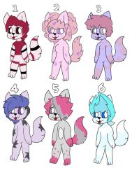 [OPEN] Dog/Cat/Wolf adoptables by RanchBerryCrunch